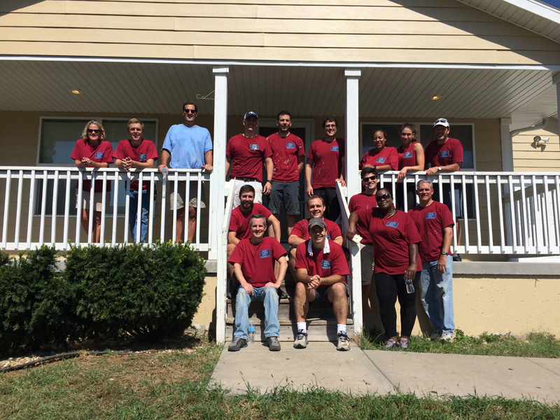 DSDK Puts Down Our Pens and Picks Up Hammers to Volunteer at Habitat for Humanity